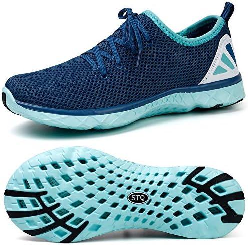 STQ Water Shoes Womens Tennis Walking
