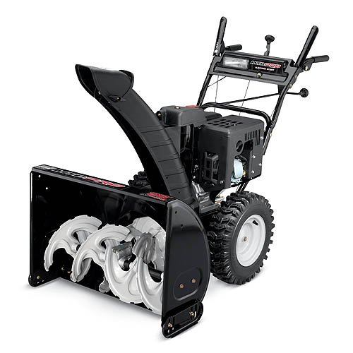 Best Electric Start Snow Blower : Mtd pro quot cc cycle electric start two stage snow