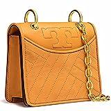 Tory Burch Alexa Mini Crossbody Bag Shoulder Bag Leather (Solarium)