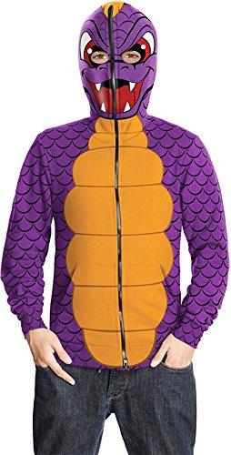 Skylanders Spyro's Adventure, Tween Spyro Hoodie Costume -