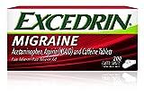 Excedrin Migraine Pain Relief Caplets 4Pack (300 count Each ) M3KXSJ