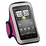 MYBAT 213 Vertical Pouch Universal Sport Armband - Hot Pink