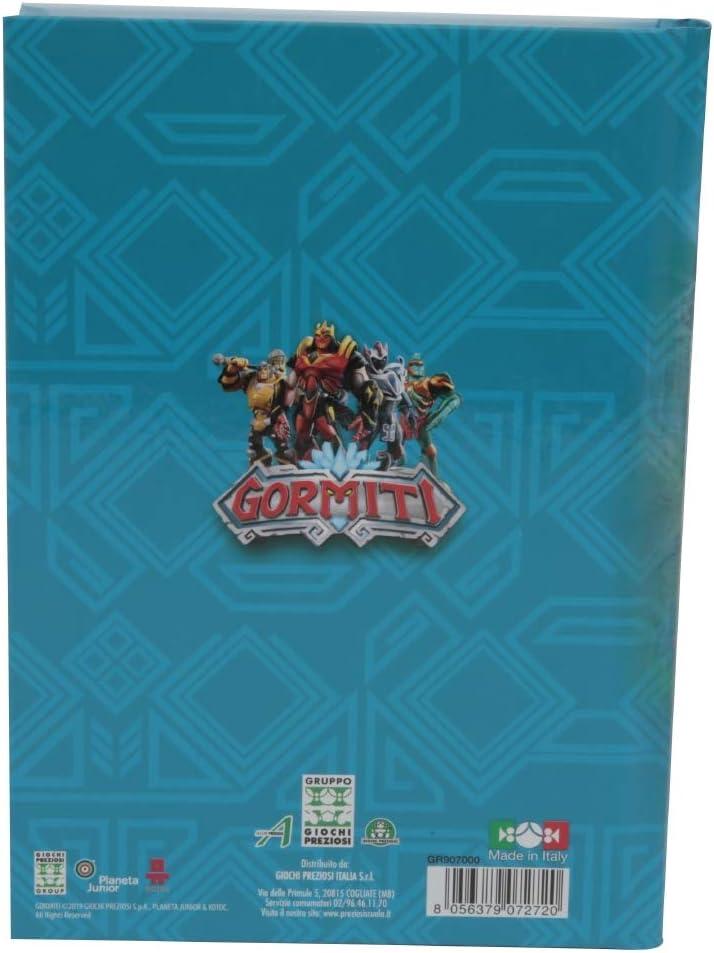 320 Pages Giochi Preziosi Gormiti 19 School Diary 10 Months Assorted Graphics Standard Size