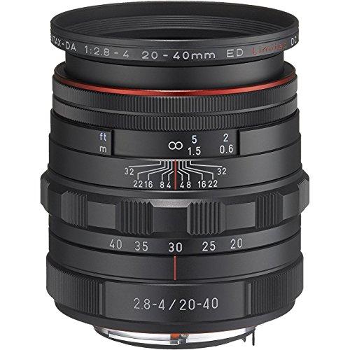Pentax HD DA 20-40mm f/2.8-4 ED Limited DC WR Zoom Lens
