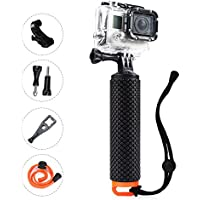 Waterproof Floating Handle,OXOQO Handler Grip,Floating Stick Pole, Diving Sport Monopod,The Handle Mount Accessories Kit for Action Camera, Gopro Hero4 Session/Hero4/3+/3/2/1