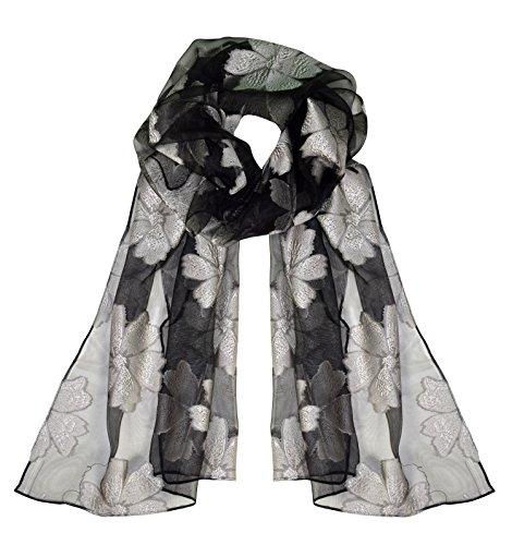 Beautiful Floral Scarf - 9