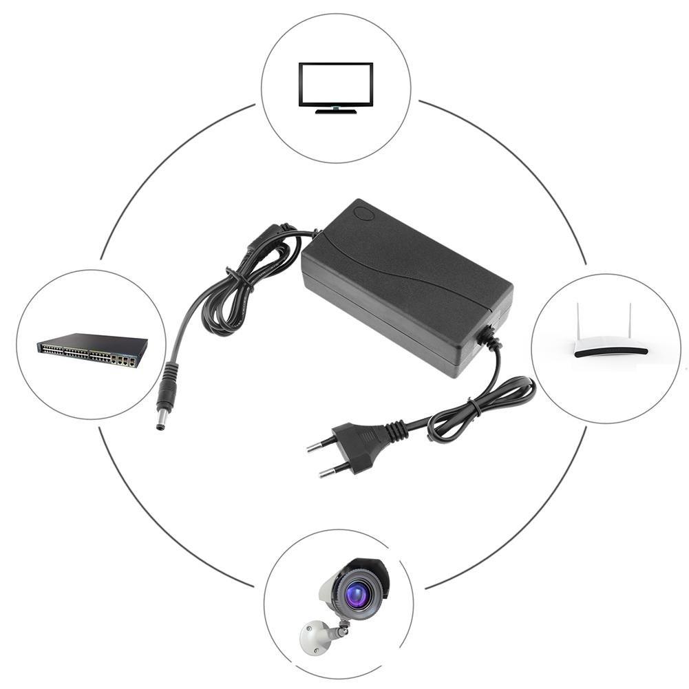 Domybest Universal Convertidor del Adaptador de Corriente de 18V 5A AC a DC 5.5 2.5mm para el sistema de la puerta
