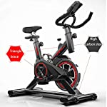 LJMG-Spin-Bike-Ultra-Silenzioso-Home-Cyclette-Soggiorno-Spinning-Bike-Indoor-Cyclette-Verticale-Home-Cyclette-Attrezzi-Fitness-Palestra-Fitness-Bike-Color-Black-Size-85-45-110cm