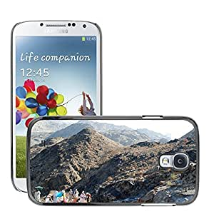 Hot Style Cell Phone PC Hard Case Cover // M00110666 Hajj View Mountains Sky Cloud // Samsung Galaxy S4 S IV SIV i9500