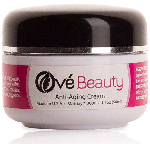 Ové Beauty Anti Aging Rejuvenating Face Moisturizer with Retinol + Peptides Including Matrixyl 3000 Made In USA Love The Results