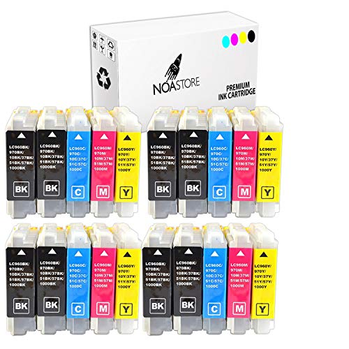 20 Pack LC51 LC-51 Ink for Brother 230C MFC-240c MFC-885c MFC-465cn MFC-5860CN ()