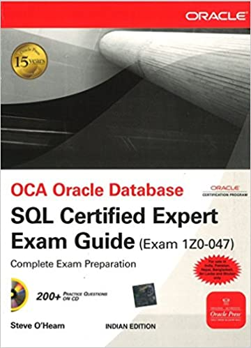 Book OCA Oracle DB SQL Certified Expert