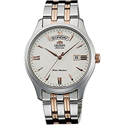ORIENT watch WORLD STAGE COLLECTION world stage collection mechanical self-winding WV0221EV milky white WV0221EV Men