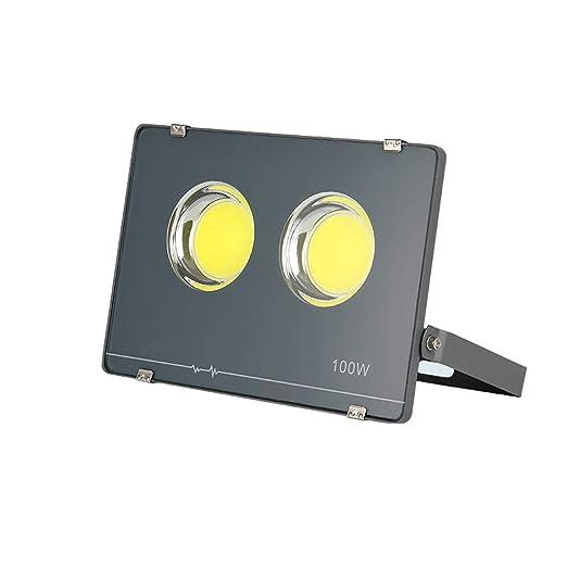 H-XH Foco Proyector LED, Impermeable Luz de Seguridad para ...