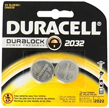 Duracell 2032 Medical Battery 2 Count (Pack of 6)