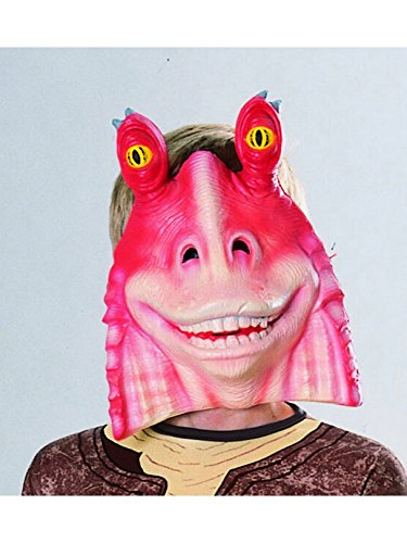 Rubie's Costume Co Jar Jar Binks 3/4 Pvc Mask Costume -