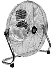 "Quality Prem-I-Air 18"" (45 cm) High Velocity Air Circulator Fan with Chrome finish"