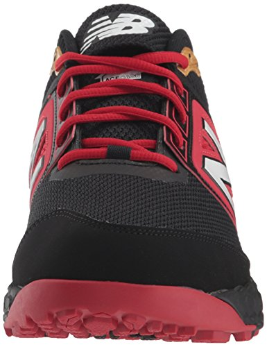 Red Turf Black New Baseball 3000v4 Men's Balance Shoe qaUT4xB