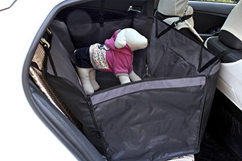 Lovely Baby Quality Anti-slip Waterproof Pet Dogs Hammock Functional Car Seat Cover YC-D-DC6001LY-GY