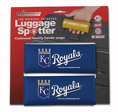 set-of-two-kc-royals-luggage-spotter-suitcase-handle-wrap-bag-tag-locator-with-id-pocket-kansas-city