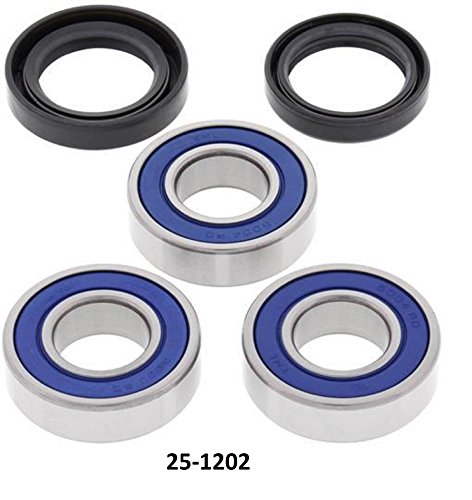 (Rear Wheel Bearing and Seal Kit with Keepitroostin Sticker Fits Honda Cr125 Cr250 Cr500 1990-2001)