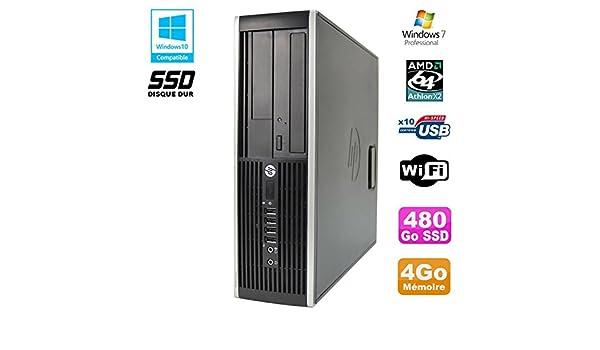 PC HP Compaq 6005 Pro SFF AMD 3GHz 4GB DDR3 480Go SSD Grabador ...