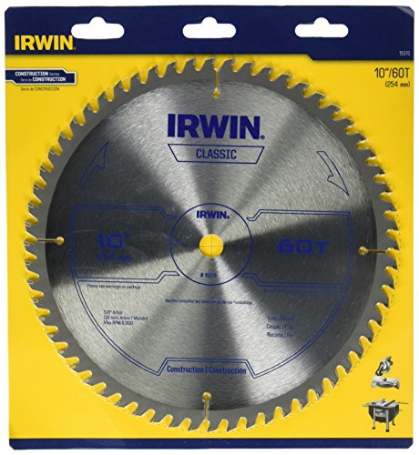 Irwin tools 15370 irwin tools classic series carbide table for 10 inch table saw blades