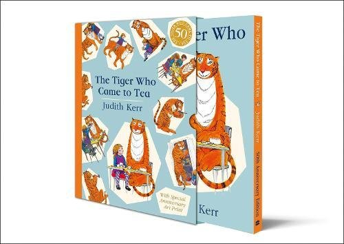Book cover for The Tiger Who Came to Tea