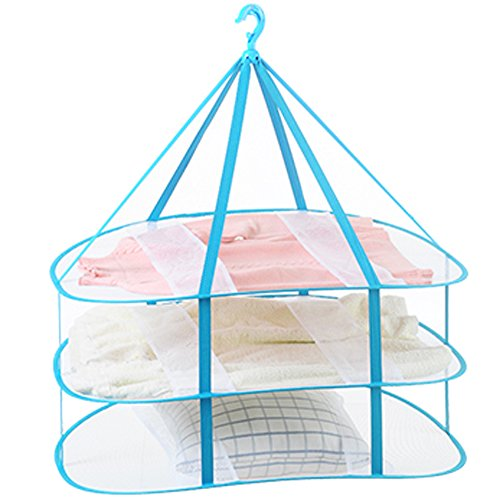 Drying Rack Nets Folding Mesh Hanging Clothes Basket Nets 3