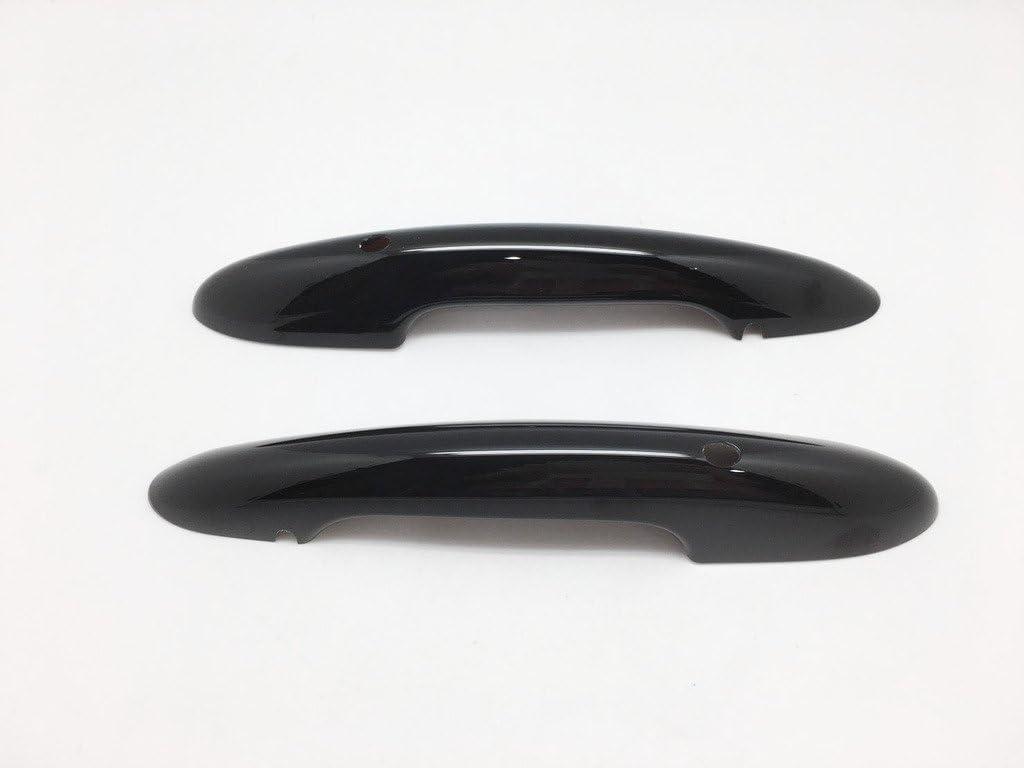 2 Keyless Gloss Black Door Handle Cover For F54 F55 F56 F58 F59 Mk3