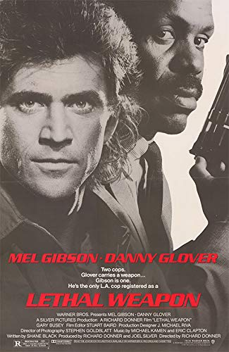 "Lethal Weapon - Authentic Original 27"" x 40.5"" Folded Movie Poster"