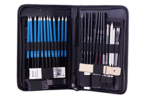 Large and Very Nice Pencil Sketching Set