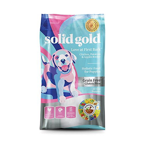 Solid Gold Puppy Dry Food; Love At First Bark Grain-Free with Real Chicken; 4 lb