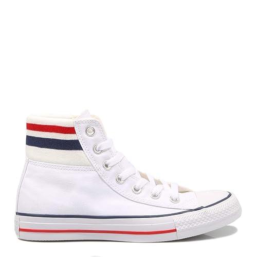 Converse, CTAS Classic White 164658C, Zapatillas Blancas para Mujer,36: Amazon.es: Zapatos y complementos