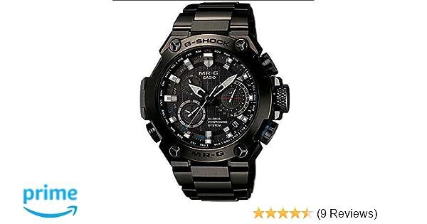 6e95a897922e Amazon.com  Casio Men s MRG-G1000B-1A G-shock MR-G Analog Quartz GPS Hybrid  Wave Ceptor Solar Watch  Watches