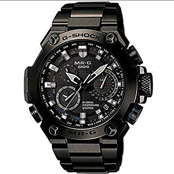 G-Shock - Reloj de pulsera GPS Hybrid Radio solar - Reloj analógico para hombre mrg-g1000b-1adr: Amazon.es: Relojes