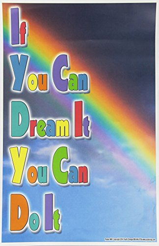 Youth Change WorkshopsMotivational Classroom Poster Teaches If You Can Dream It, You Can Do