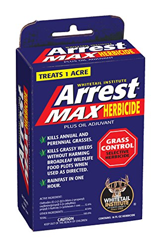 Whitetail Institute Arrest Max Grass Food Plot Herbicide, 1 Pint (1 Acre)