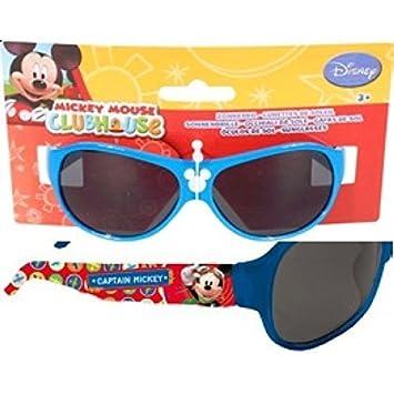 Disney gafas de sol para niños en azul Motivo Mickey Mouse ...