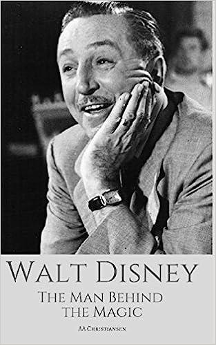 Amazon Com Walt Disney The Man Behind The Magic A Walt Disney