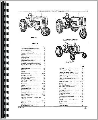 John Deere Tractor HW partes Manual