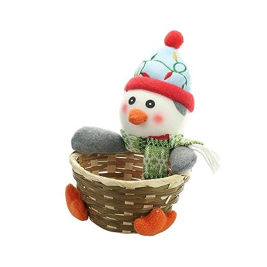 Amosfun Decoración de la cesta de almacenamiento de dulces ...