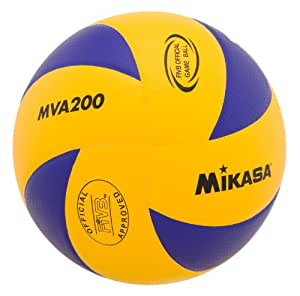 Mikasa MVA200  2016 Rio Olympic Game Ball (Blue/Yellow)