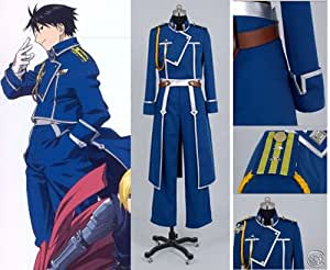 Fullmetal Alchemist Roy Mustang Cosplay Costume-National Army Military Uniform
