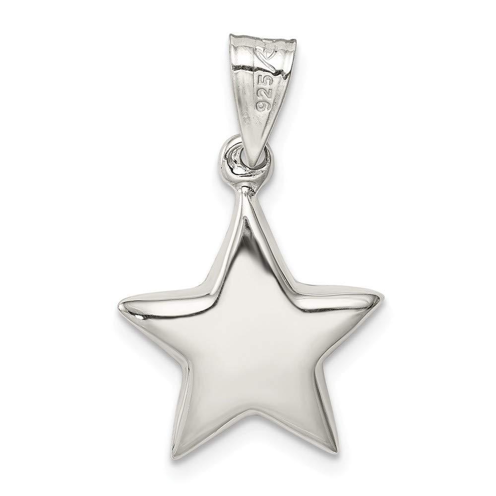 925 Sterling Silver Star Charm
