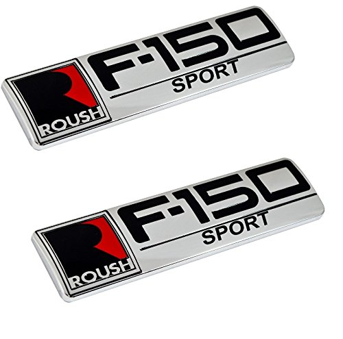 Roush F-150 Sport Ford Truck Fender & Rear Tailgate Emblems - 8