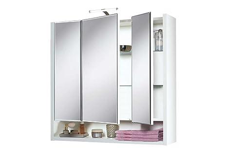 Livarno®Living Spiegelschrank mit 3 Türen - LED Beleuchtung