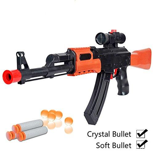 Ak 47 Toy Guns Airsoft Toy Sniper Rifle Air Guns Juguetes Paintball 82.5cm Air Gun Water Soft Bullets Arma De Brinquedo Juguetes (Paintball Pellet Gun)