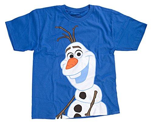 Disney Frozen Casual Olaf Jungen Blue T-Shirt