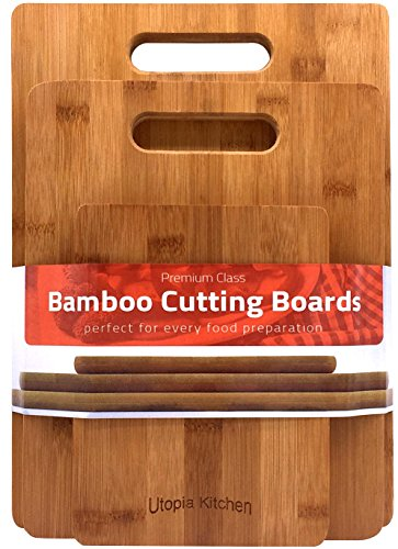 Bamboo Cutting Board 3pc set (3-pc Set) - By ...